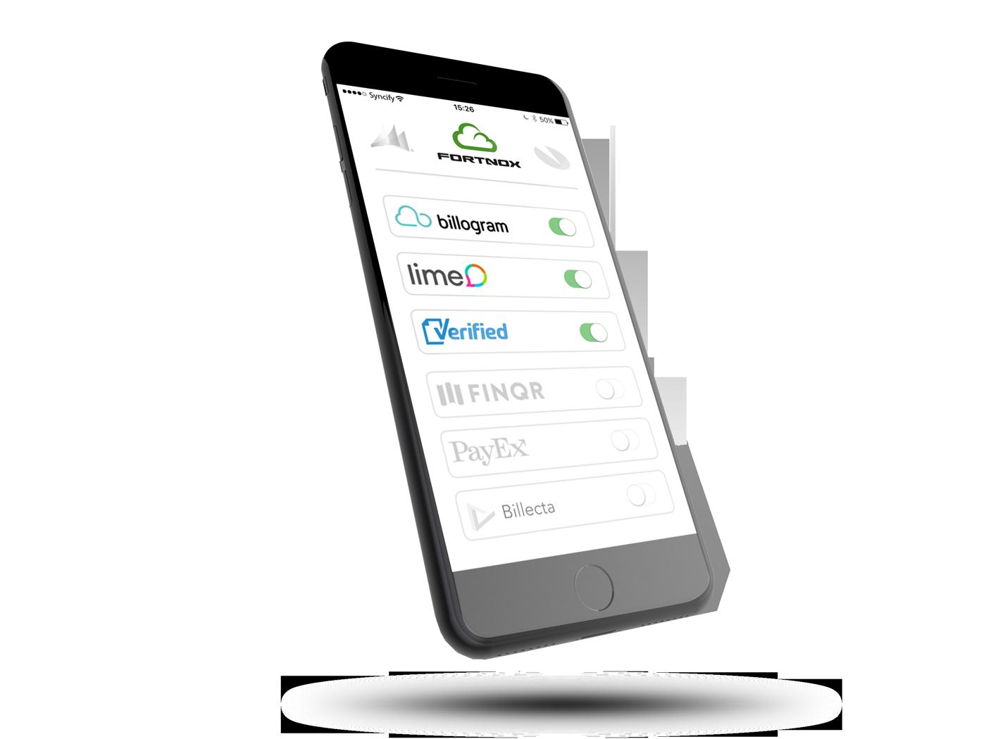 Syncify integrerar ditt affärssystem med valfri tjänsteleverantör